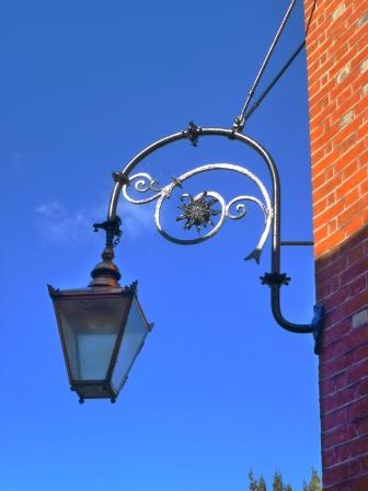 An antique lamp in Chichester