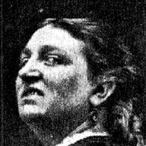 a woman sneering
