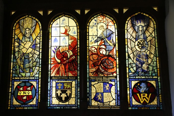 Lyminster Church Stained Glass Window