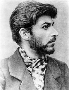 Iosif Vissarionovich Dzhugashvili- 23 year old Joseph Stalin
