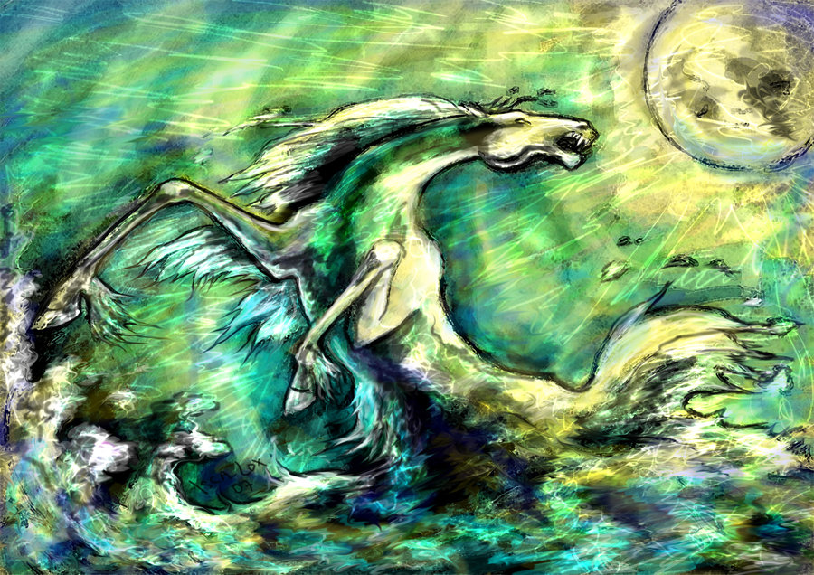 Kelpie by Iscalox -non-commercial re-use only