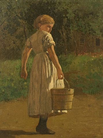 358px-Winslow_Homer_-_Girl_with_Pail