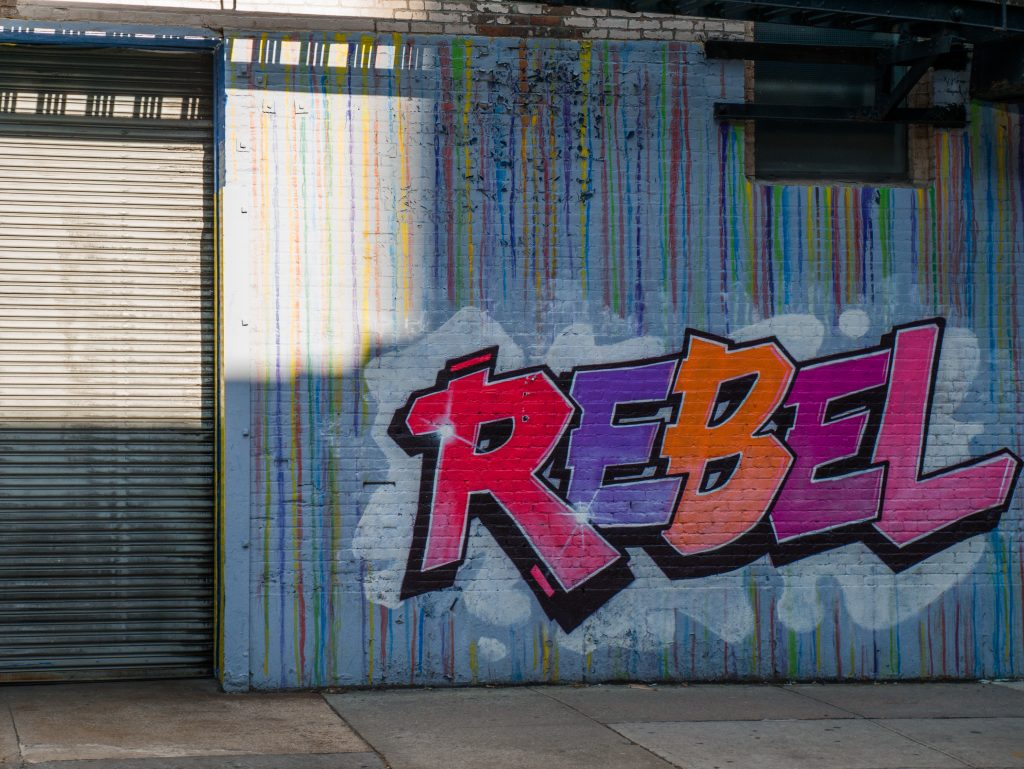 Rebel NYC by Ton Simpson