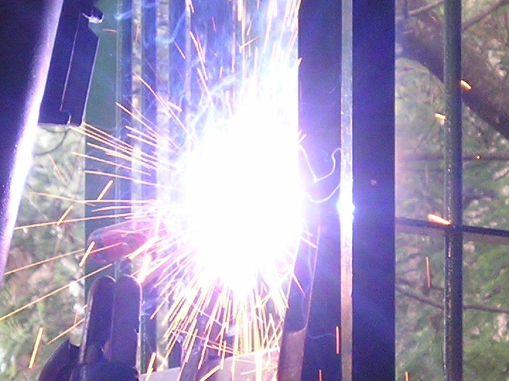 welding blaze