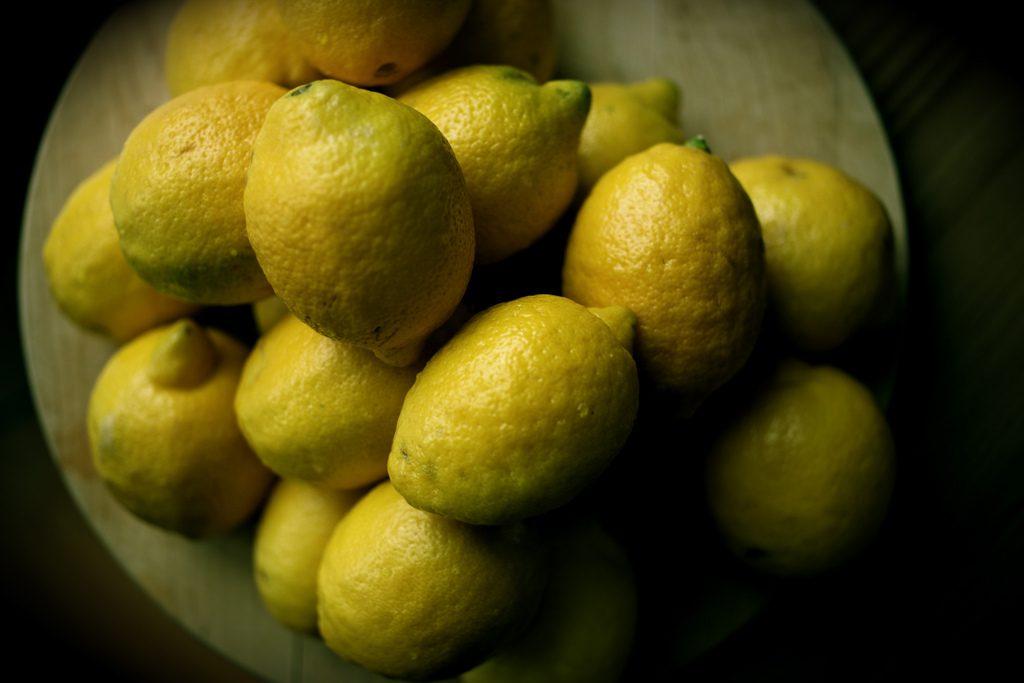 lemons by  Trevor Leyenhorst