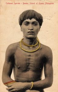 Tattoed man from Bontoc